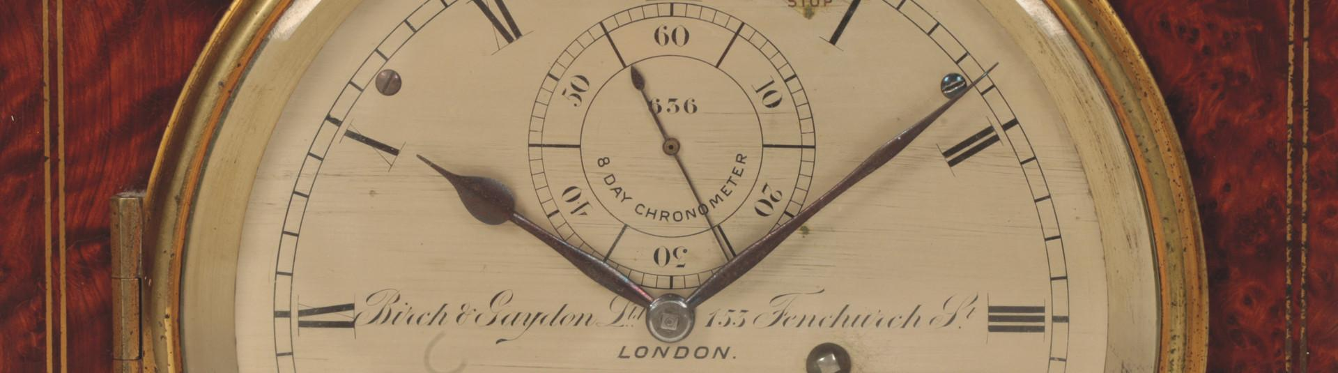 Close-up of clock face 2020