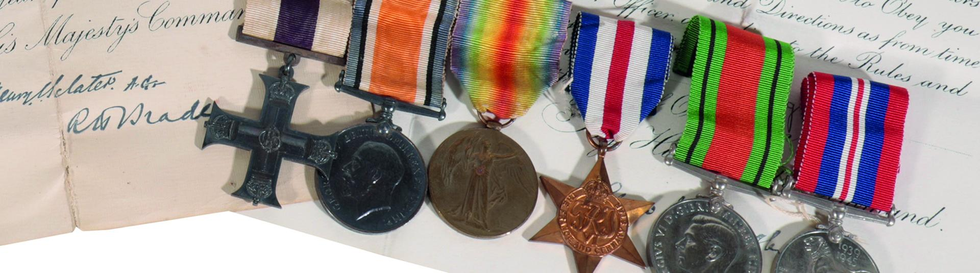 Coins and medals collection on black 2020